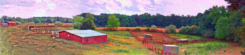 HDR photo of Vieu Farm