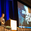 Talking about Galactic Reign at GDC.