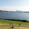 View of Seattle from Gasworks Park.