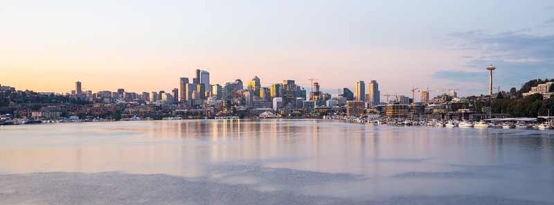 Gasworks Park Sunrise - Equinox September 2015