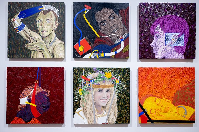 Gerard Pas: Broken Body.  McIntosh Gallery, London, Ontario.  February, 2020.