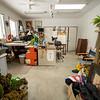 Gerard's studio.  February, 2020.