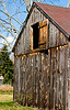 <center>Hay Loft<br><br>Glocester, Rhode Island<br><br>This barn was twisted off its foundation in the '38 Hurricane. It took a team of oxen and a set of winches to put it back where it belonged.</center>