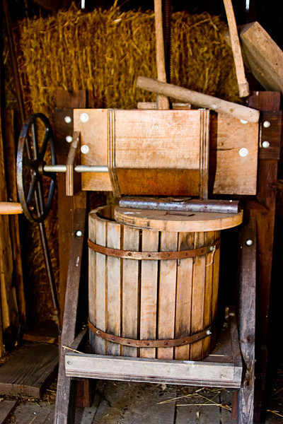 <center>Butter Churn<br><br>Glocester, Rhode Island<br><br>Either that or an ice cream maker, but I'm going with the churn.</center>