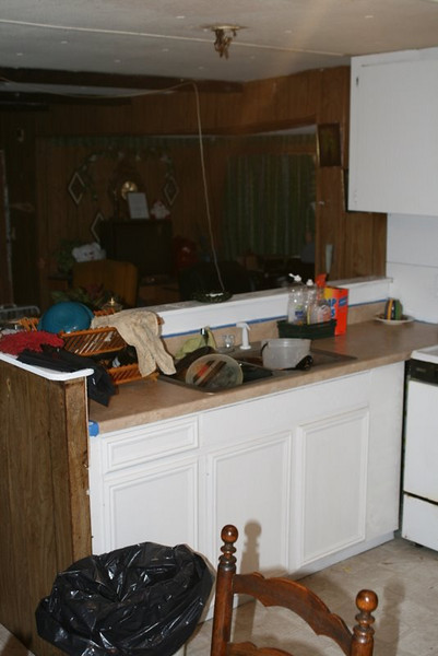 09 03 Minden, LA -  New kitchen counter top installed. lf