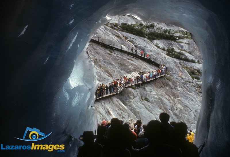 Glacier, Mer de Glace<br /> Chamonix, France
