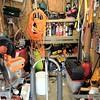 IRLP Node Mk.I in situ, the shed.