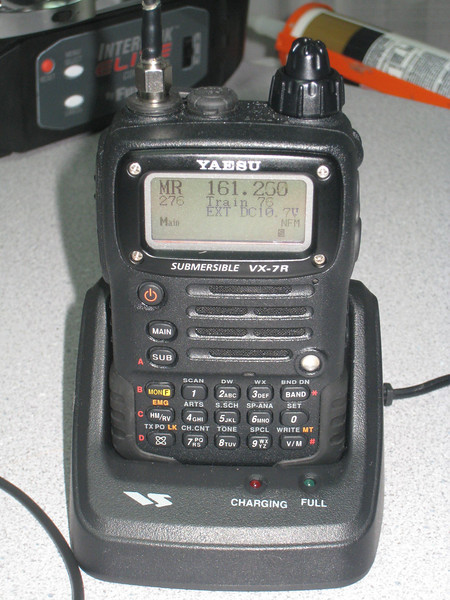 Yaesu VX-7R, later sold to K7LTY as her first radio!