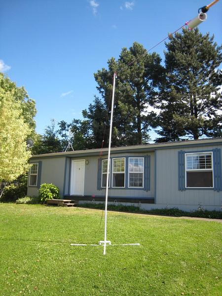 20m temporary dipole