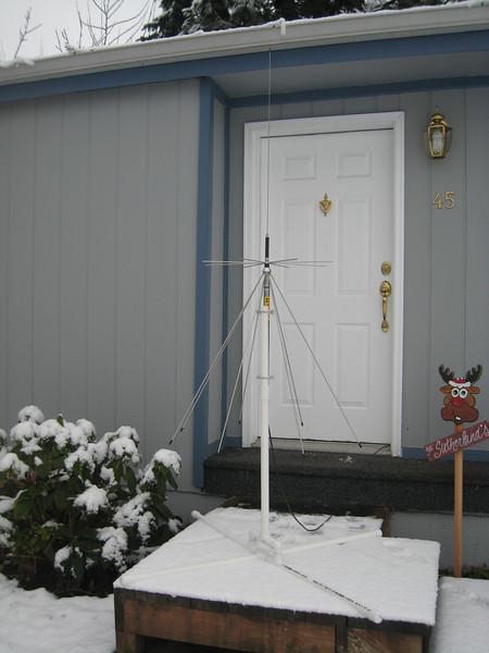 Temporary Antenna Mount