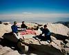 Robin, Tuan & Kevin<br /> Mt. Whitney summit