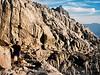 Ascending Whitney Portal Trail