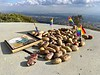 """On top of Potato Mountain. Elevation 3,340ft.<br /> Seems people bring potatoes and place them on this high point; hence """"Potato Mountain"""".<br /> January 24, 2021"""