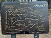 Sheep Mountain Wilderness area map, at the Iron Mountain Trailhead<br /> July 25, 2021