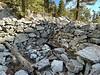 Defunct gold mining shack, off Baldy Bowl Trail<br /> December 26, 2020