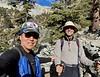 Kevin Lee with Craig Hoover<br /> Baldy Bowl Trail<br /> December 26, 2020