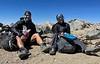 Jaime & Jen<br /> Lunchtime on top of old Baldy<br /> April 18, 2021