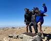 Jaime, Jen & Kevin<br /> Mt. San Antonio summit<br /> April 18, 2021
