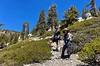 Jaime & Jen<br /> Ascending Baldy Bowl Trail<br /> April 18, 2021