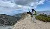Craig at Baldy Bowl Outlook<br /> Ascending Baldy Bowl Trail<br /> July 18, 2021