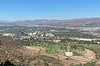 Great view of Forest Lawn Cemetery, Burbank, where Sue's mother is buried.<br /> November 10, 2020