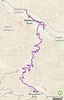 Trail track from Wildwood to Mt. Lukens summit.<br /> Named after Theodore Lukens, a former supervisor of the Angeles National Forest and later, the mayor of Pasadena, California. <br /> February 24, 2021