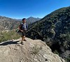 Kevin<br /> Ascending Stone Canyon Trail, up Mt. Lukens<br /> February 24, 2021<br /> Photo: Rick Flores