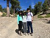 Robin, Luci & Gene<br /> Luci's first hike up Mt. Baldy<br /> August 18, 2019