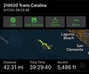 """Trans Catalina Trail, May 17~20, 2021<br /> Actual distance was more than 42 miles, as I forgot to """"resume"""" tracking several times."""