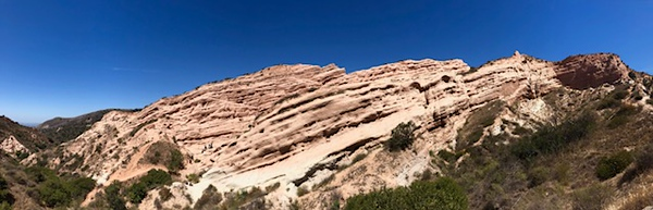 Red Rock Canyon<br /> Whiting Ranch Wilderness, Orange County, California