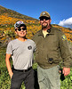 Kevin with Park Ranger
