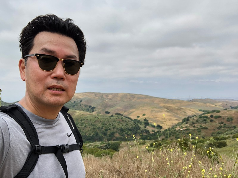 Summit of San Juan Hill, looking northeast<br /> Chino Hills State Park, San Bernardino County, California<br /> June 1, 2019