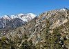 View from the summit of Mt. Timber, with Mt. Baldy to the west.<br /> January 14, 2020