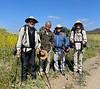Steve, Ramon, Andy & Craig<br /> Rancho Potero Trail<br /> Santa Monica National Recreation Area<br /> May 8, 2021