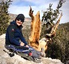 Megan enjoying snacks<br /> Ancient Bristlecone Pine Forest