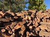 Copper Top BBQ woodpile<br /> Big Pine, California