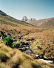 Mt. Kenya, our destination.<br /> June 7, 1994