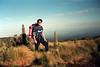Ascending higher and higher toward Mt. Kenya, Africa's 2nd highest peak.<br /> June 7, 1004