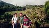With Eric & Ramesh, both Canadian medical doctors (McGill University)<br /> Marangu Trail<br /> June 10, 1994