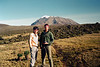 Kevin & Eric, with Kilimanjaro<br /> June 11, 1994
