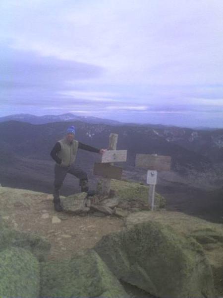 Summit of Mt Lafayette 07