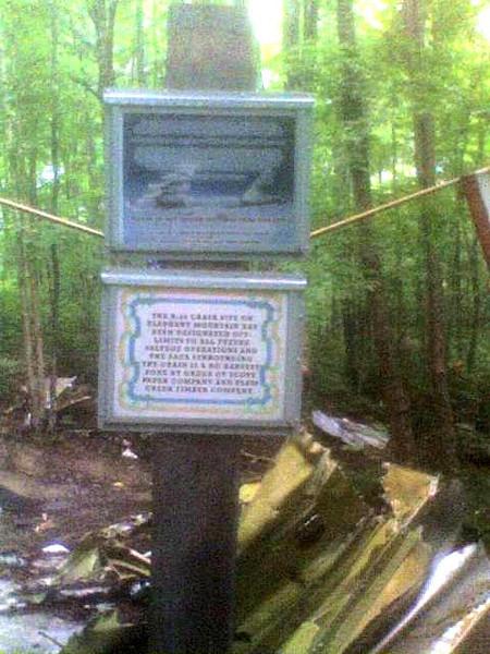 Maine Crash site Memorial