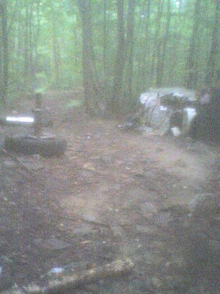 Crash site Debris field