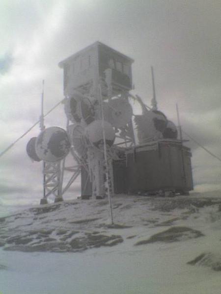 Mt Kearsarge winter of 07