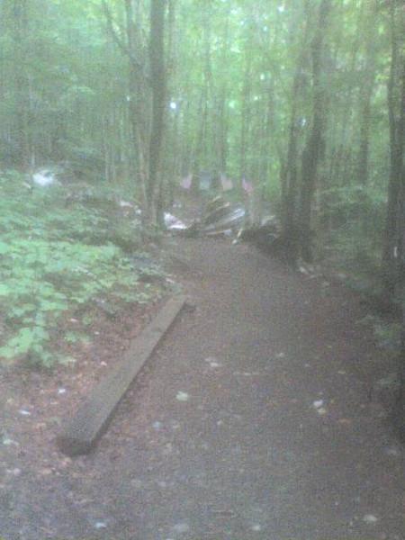 Maine crash site debris field