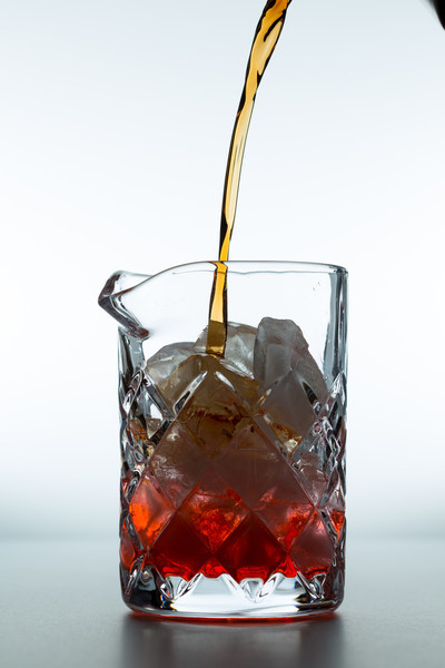Add sweet vermouth, 1oz. I recommend Vya.