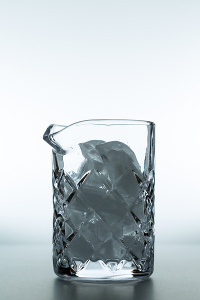 Fill with ice.