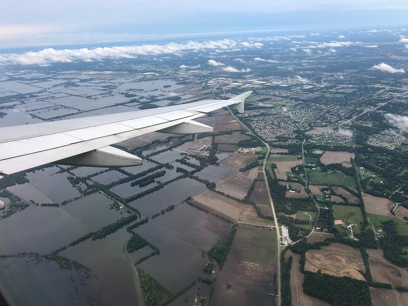 Flooded fields near STL