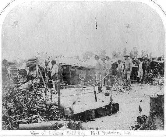 Indiana_Artillery_Port_Hudson_LA_1863