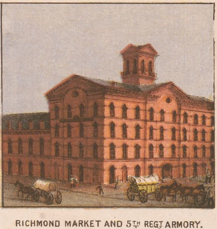 Richmond Market and 5th Regt Armory